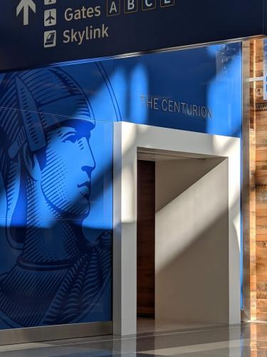 Centurion Lounge DFW - Terminal Entrance