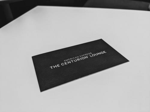 Centurion Lounge DFW - Welcome