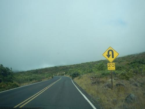 Drive up Haleakala