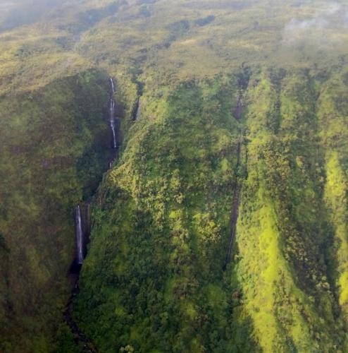 Maui Helicopter Tour - Waterfall View