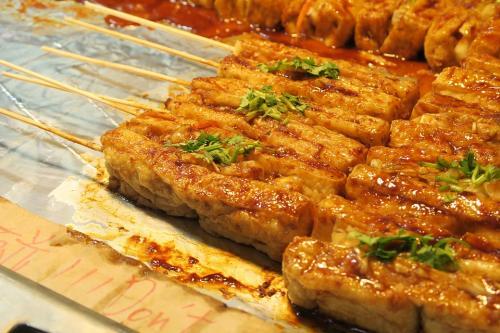 Things to do in Taipei - Night Market Tofu 2